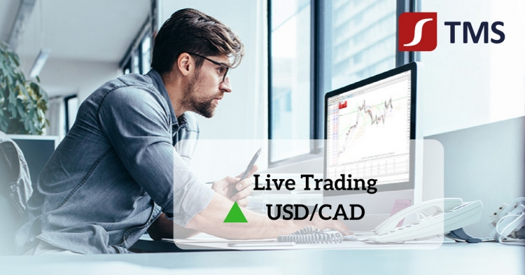 Live Trading: USD/CAD